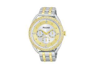 Pulsar Night Out Multifunction Stainless Steel - Two-Tone Women's watch #PP6180