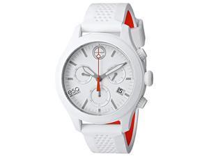 ESQ 07301459 Movado One Chronograph White Silicone Unisex Watch