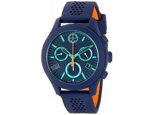 ESQ 07301461 Movado One Chronograph Navy Silicone Unisex Watch
