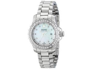 Movado Series 800 Stainless Steel with Diamonds Women's watch #2600120