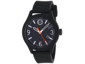 ESQ One Black Dial Black Silicone Unisex Watch 07301442
