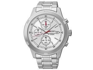 Seiko Chronograph Date Stainless Steel Men's watch #SKS417