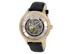 Kenneth Cole New York Automatic Black Leather Men's watch #KC8078