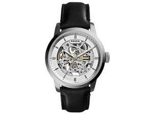 Fossil Men's ME3085 Black Leather Automatic Watch