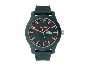 Lacoste Lacoste.12.12 Three-Hand Black Silicone Men's watch #2010794