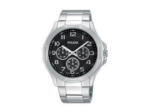Pulsar Multifunction Stainless Steel Mens watch #PP6207