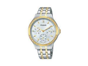 Pulsar Multifunction Two-Tone Stainless Steel Womens watch #PP6192