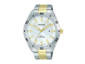 Pulsar Two-Tone Stainless Steel Men's watch #PH9091X
