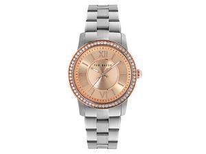Ted Baker Three-Hand Stainless Steel Womens watch #TE4097