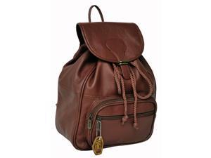 Ladies' Leather Backpack (#1820-2)