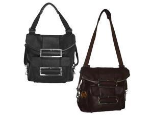 Rococo Leather Handbag / Backpack (#1510-4)