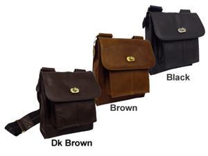 Gorgeous Leather Antony Messenger Bag (#1832-024)