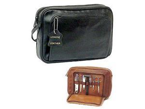 Leather Travel Toiletry Bag (#25-02)