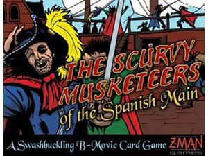 The Scurvy Musketeers of the Spanish Main