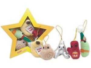 Plush Microbe: Christmas Star Mini Microbes Box