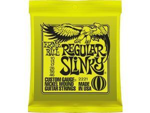 Ernie Ball E-2221 Regular Slinky Electric Guitar Strings - 3 Pack