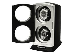 Double automatic watch winder with built in Multi Setting Smart IC Timer