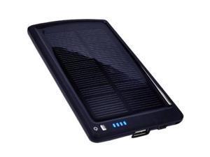 Opteka BP-SC4000 4000mAh Ultra Thin Solar Powered High Capacity Backup Battery Charger + 10 Charging Tips