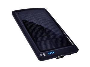 Opteka BP-SC4000 Ultra Thin Solar Powered High Capacity 4000mAh Backup Battery and Charger w/ 10 Device Tips
