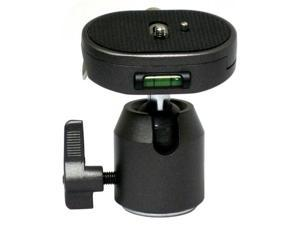 Opteka TH30 Ball Head with Oversized Quick Release Plate for Tripods and Monopods