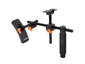 Opteka CXS-400 Video Riser Shoulder Stabilizer Support System for DSLR Cameras & Camcorders
