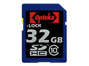Opteka 32 GB Class 10 SDHC Secure Digital Memory Card