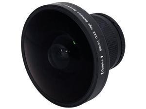 "Opteka Platinum Series 0.2X HD Panoramic ""Vortex"" 220Deg Fisheye Lens For Canon Elura 65, 70, 80, 85, 90, Optura 200MC, 30, 40, 50, 60, 600, VIXIA HF R20, R200, R21, MVX300, MVX330i, MVX350i, MVX40"