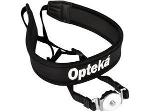 Opteka NS-7 Tripod Mounted Swivel DSLR Digital Camera Neck Strap System for FujiFilm FinePix HS10 HS11 HS20 HS22 HS30 HS35 HS50 S200 S1500 S1600 S1770 S1800 S1880 S2000 S2500 S2600 S2800 S2900 S2950