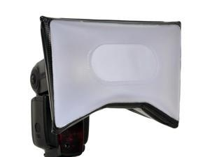 """Opteka SB-15 AF-Compatible 7"""" X 5"""" Universal Softbox Diffuser for Camera Flashes"""