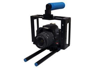 Opteka CXS-500 X-Cage Pro with Handgrip and Rail System for all Digital SLR Cameras