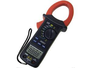 Sinometer BM802 AC Digital Clamp on Meter with V/A Resistance Capacitance Frequency