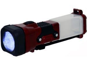 Kaito TXY001 3-in-1 Emergency LED Lantern Flashlight & Night Light - Red