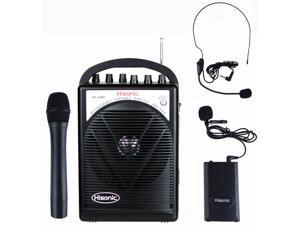 Hisonic HS120BT Portable Speaker System with Wireless Microphones