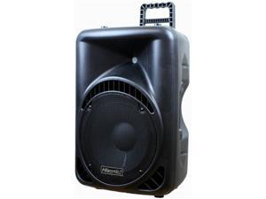 Hisonic HS6541 Powered Active PA 2-Way Speaker, 300 Watts