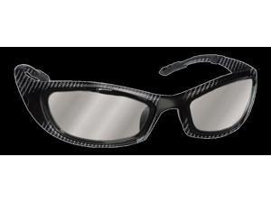 Bangerz Zepher Sport Sunglasses HS-8200 Carbon Fiber Frame / Mirrored Lenses