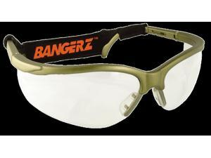 Bangerz Eyeguards for Cycling and Racquet Sports HS 4500  Gunmetal/Clear