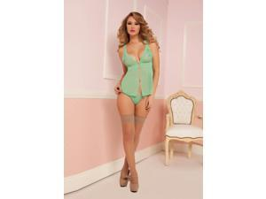 Euphoric Ecstasy Babydoll With Thong