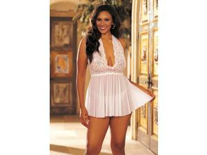 Women's Babydoll Lace And Net