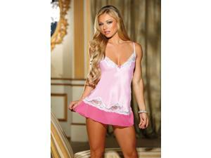 Hello Gorgeous Satin And Lace Chemise