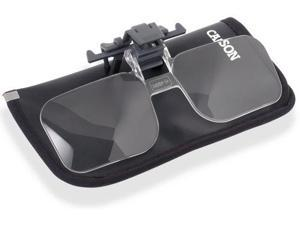 Carson Clip & Flip 1.75 x Power (+3.00 Diopters) Clip-On, Flip-Up Magnifying Len