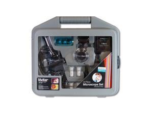 Vivitar 100x/400x/900x Microscope Package with Case 28-pc VIV-MIC-2