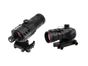 Burris AR-132 Tactical 4 MOA Reticle Red Dot Sight & Burris AR-Tripler w/ AR Piv