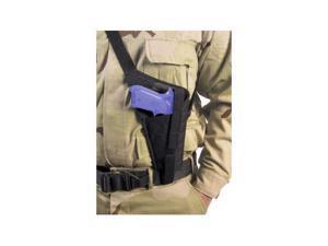 Elite Survival Systems HN45BL Military Shoulder Holster, Left Hand - 6in Revolve