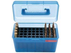 MTM H50 Ammunition Box .220 Swift to .30-06 Blue