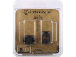Leupold Standard 2 Piece Mount Base, Cooper 22/16/23, Matte Black
