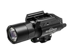 Surefire X400 Ultra Weaponlight and Laser, Fits Picatinny, Black, LED 500 Lumens, Green Laser X400U-A-GN