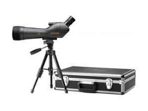 Leupold SX-1 Ventana 20-60x80mm Angled Spotting Scope Kit, Black with Case and T