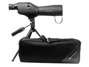Barska Colorado 20-60x60 Waterproof Straight Spotting Scope, Black, w/ Tripod &