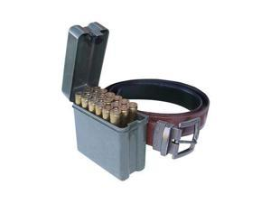 MTM Ammo Box 20 Round Belt Style 30-30 308 22-250 243 Win, Forest Green