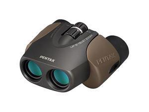 Pentax U-Series Compact Porro-Prism UP 8-16x21 Binocular, Brown
